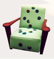 Le fauteuil qui jongle :